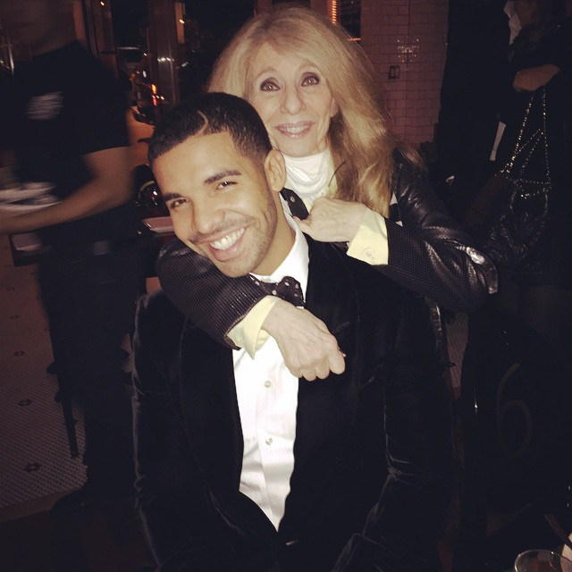 Drake-and-his-mother