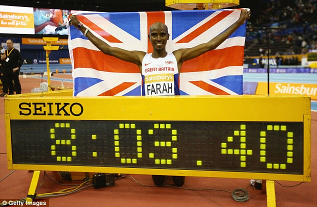 Mo Farrah Indoor World Record